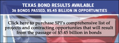 Nov. 2012 Tx Bond Elections - Results Package