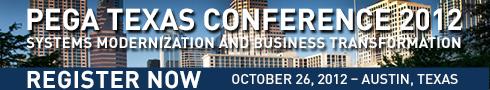 Pega Texas Conference 2012