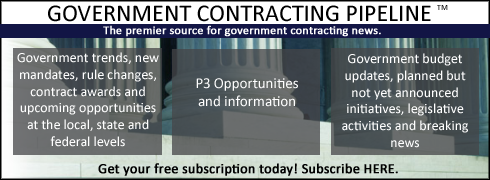 Subscribe to the Government Contracting Pipeline